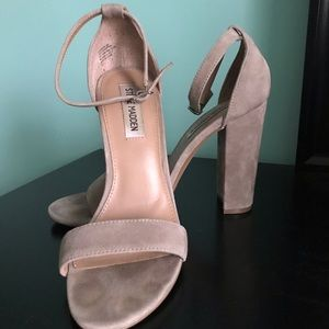 Carrson Heel in Taupe